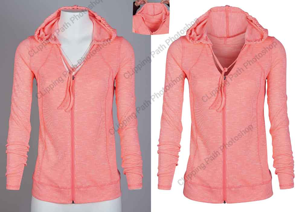 ghost mannequin service, neck joint service, Clipping Path Photoshop