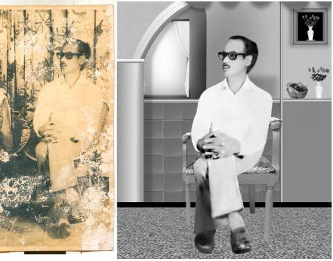 restore old photos photoshop, old photo restoration, old damaged photos, photo restoration, clipping pah photoshop